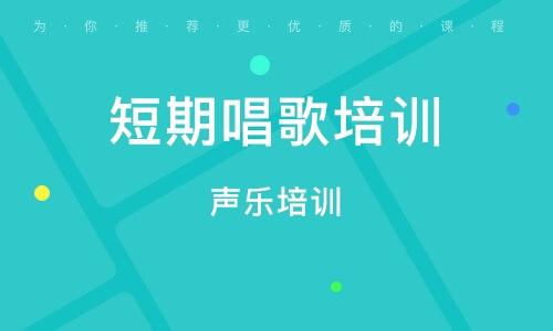 惠州聲樂培訓