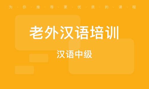佛山老外漢語培訓班