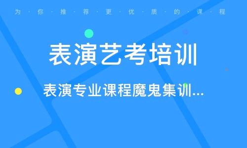 惠州表演藝考培訓班