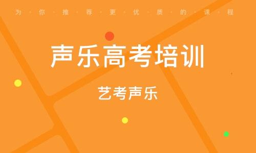 天津聲樂高考培訓班