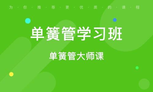 北京單簧管學習班