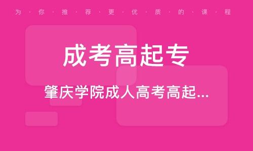 惠州成考高起專