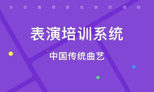 北京表演培訓系統