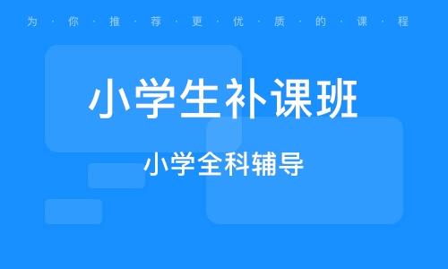 濟寧小學生補課班