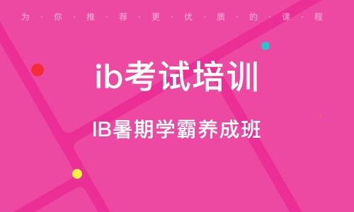 北京ib考試培訓