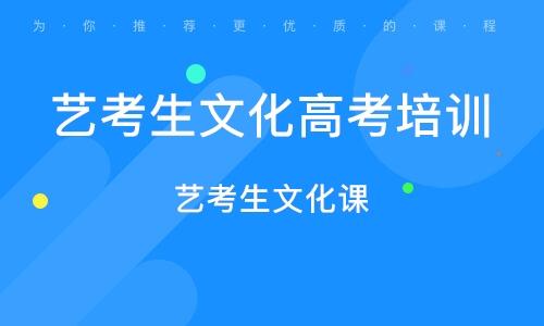 廣州藝考生文化高考培訓