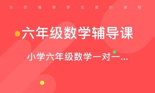 鄭州六年級數學輔導課