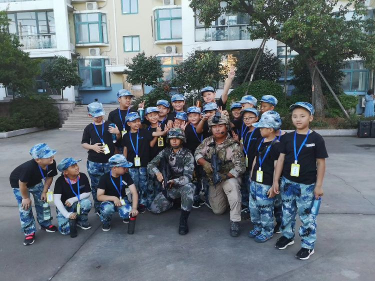 石家莊軍事體驗式夏令營